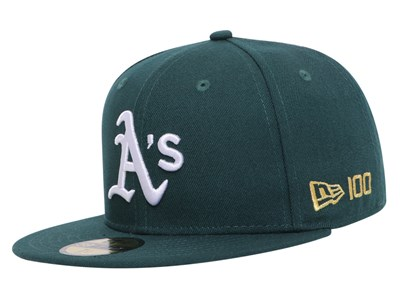 Oakland Athletics MLB 2020 100th x Centennial Collection Green 59FIFTY Cap (Online Exclusive)