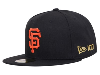 San Francisco Giants MLB 2020 100th x Centennial Collection Black 59FIFTY Cap (Online Exclusive)