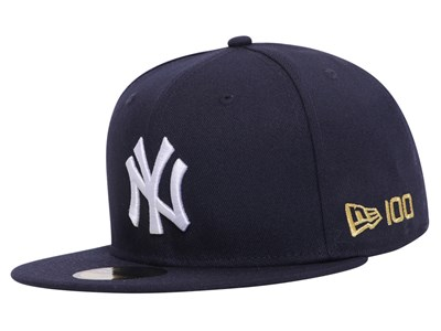 New York Yankees MLB 2020 100th x Centennial Collection Navy 59FIFTY Cap (Online Exclusive)
