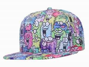 New Era Kevin Lyons Monster Multicolor 9FIFTY Snapback Cap (ONLINE EXCLUSIVE)