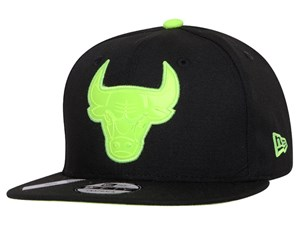 Chicago Bulls NBA Reflective Pack Logo Black 9FIFTY Cap (LAST STOCK)