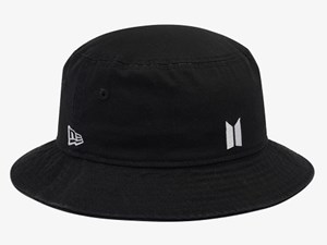 New Era BTS Beyond The Scene Black Bucket Cap