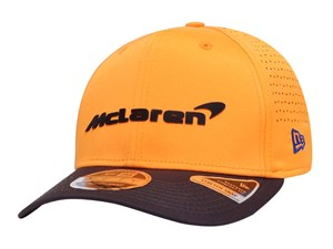 McLaren Racing Driver Sainz Black Yellow 9FIFTY Stretch Snap Cap