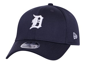 Detroit Tigers MLB 2020 Clubhouse Navy 9FORTY Stretch Snap Cap