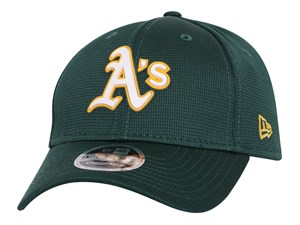 Oakland Athletics MLB 2020 Clubhouse Dark Green 9FORTY Stretch Snap Cap
