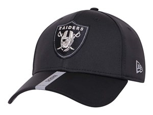 Oakland Raiders NFL Organized Team Activities Black 9FORTY Stretch Snap Cap