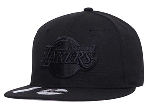 Los Angeles Lakers NBA Reflective Pack Black 59FIFTY Cap