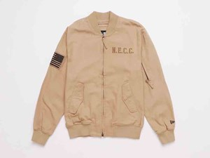 New Era Company Flight Tan Full Sleeve Jacket (LAST STOCK Size M)
