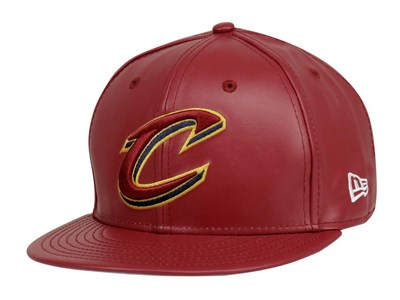 Cleveland Cavaliers NBA Leather Squad Red 59FIFTY Cap