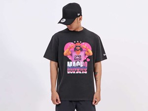 New Era WWE Legends Macho Man Short Sleeve Black Shirt