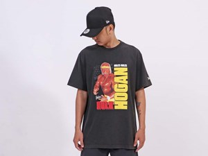 New Era WWE Legends Hulk Hogan Short Sleeve Black Shirt