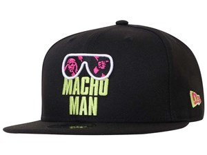 New Era WWE Legends Macho Man Black 9FIFTY Cap