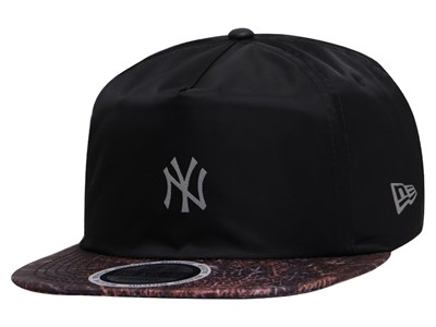 New York Yankees MLB Forest All Over Golf Black 9FIFTY Cap