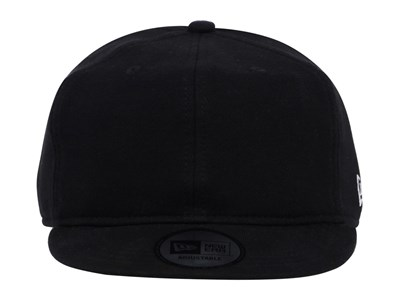 New Era Sweat Plains Black Bike Cap