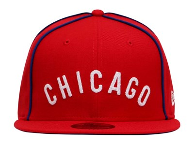 Chicago Cubs Cooperstown MLB Heritage Scarlet 9FIFTY Cap