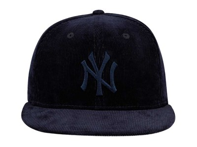 New York Yankees MLB Color Corduroy Navy 59FIFTY Cap