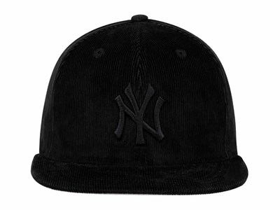 New York Yankees MLB Color Corduroy Black 59FIFTY Cap