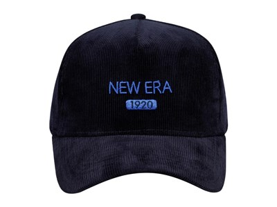 New Era 1920 Color Corduroy Navy 9FORTY A-Frame Cap