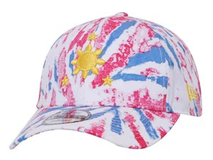 Francis M Three Stars and a Sun All Over Tie Dye Print 9FORTY Cap