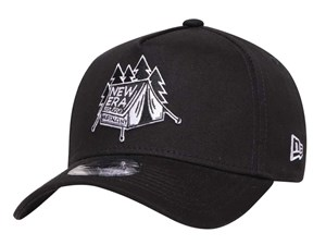 New Era Tent Outdoor Black 9FORTY A-Frame Cap