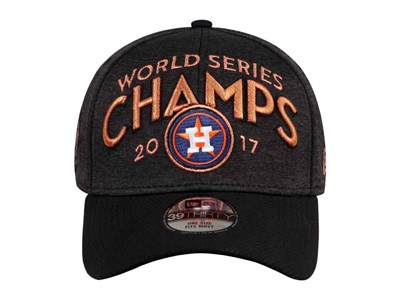 Houston Astros MLB World Series Champions Black 39THIRTY Cap