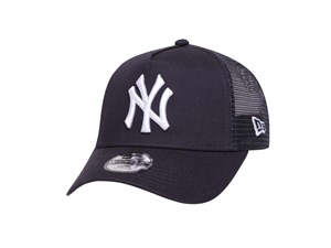 New York Yankees MLB  Trucker Navy 9FORTY A-Frame Youth Kids Cap (LAST STOCK)