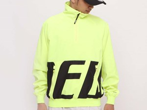 New Era Tech Half Zip Up Neon Yellow Jacket (LAST STOCK Size M)