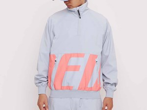 New Era Tech Half Zip Up Platinum Gray Jacket (LAST STOCK Size M)