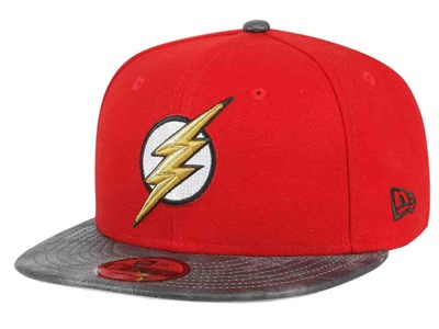 The Flash DC Justice League Black Red 9FIFTY Cap