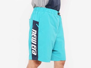 New Era Color Block Blue Shorts