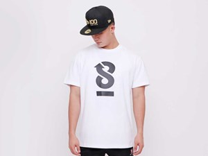 New Era 100th Anniversary Centennial Infinity White Short Sleeves Shirt (LAST STOCK)