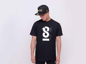 New Era 100th Anniversary Centennial Infinity Black Short Sleeves Shirt (LAST STOCK)