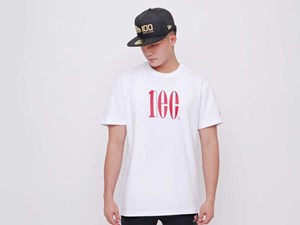New Era 100th Anniversary Centennial White Short Sleeve Shirt (LAST STOCK)
