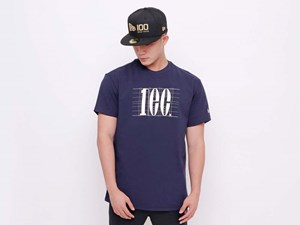 New Era 100th Anniversary Centennial Navy Short Sleeve Shirt (LAST STOCK)