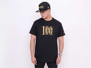 New Era 100th Anniversary Centennial Black Short Sleeve Shirt (LAST STOCK)