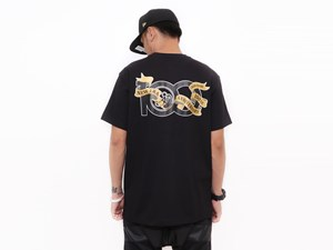 New Era 100th Anniversary Centennial Black Short Sleeves Shirt