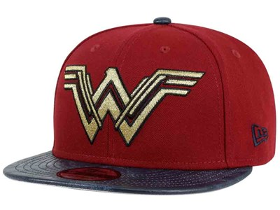 Wonder Woman DC Justice League Blue Red 9FIFTY Cap