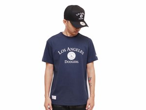 Los Angeles Dodgers MLB University Navy Short Sleeve Shirt
