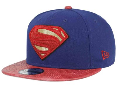 Superman DC Justice League Red Blue 9FIFTY Cap