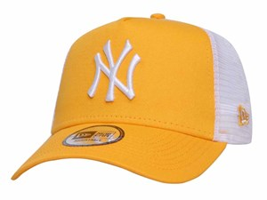 New York Yankees MLB League Essential Trucker Gold 9FORTY A-Frame Cap