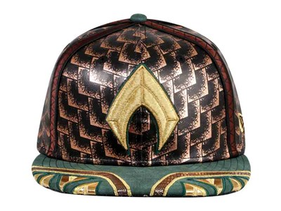 Aquaman DC Justice League Green Gold 59FIFTY Cap
